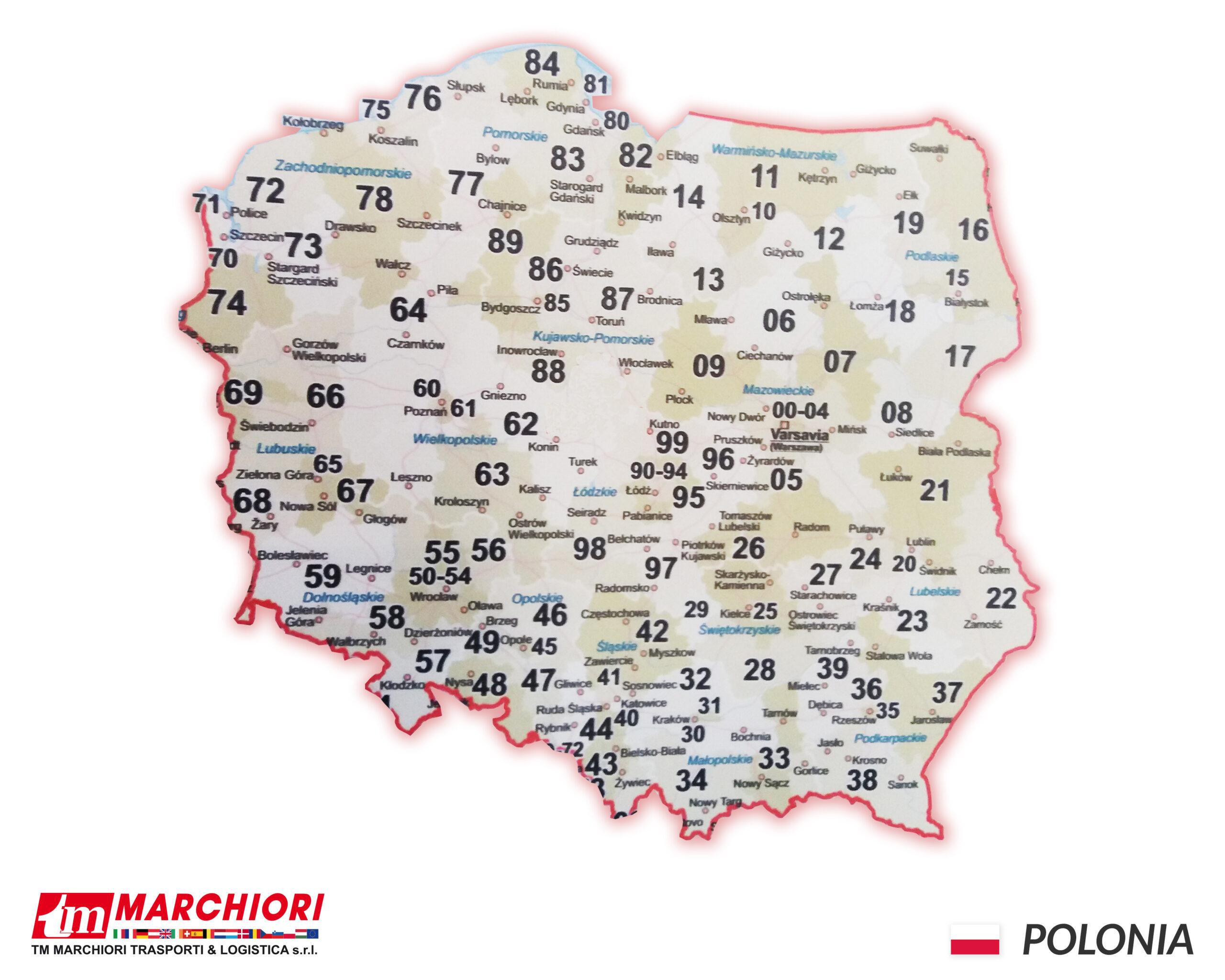 Trasporti in Polonia