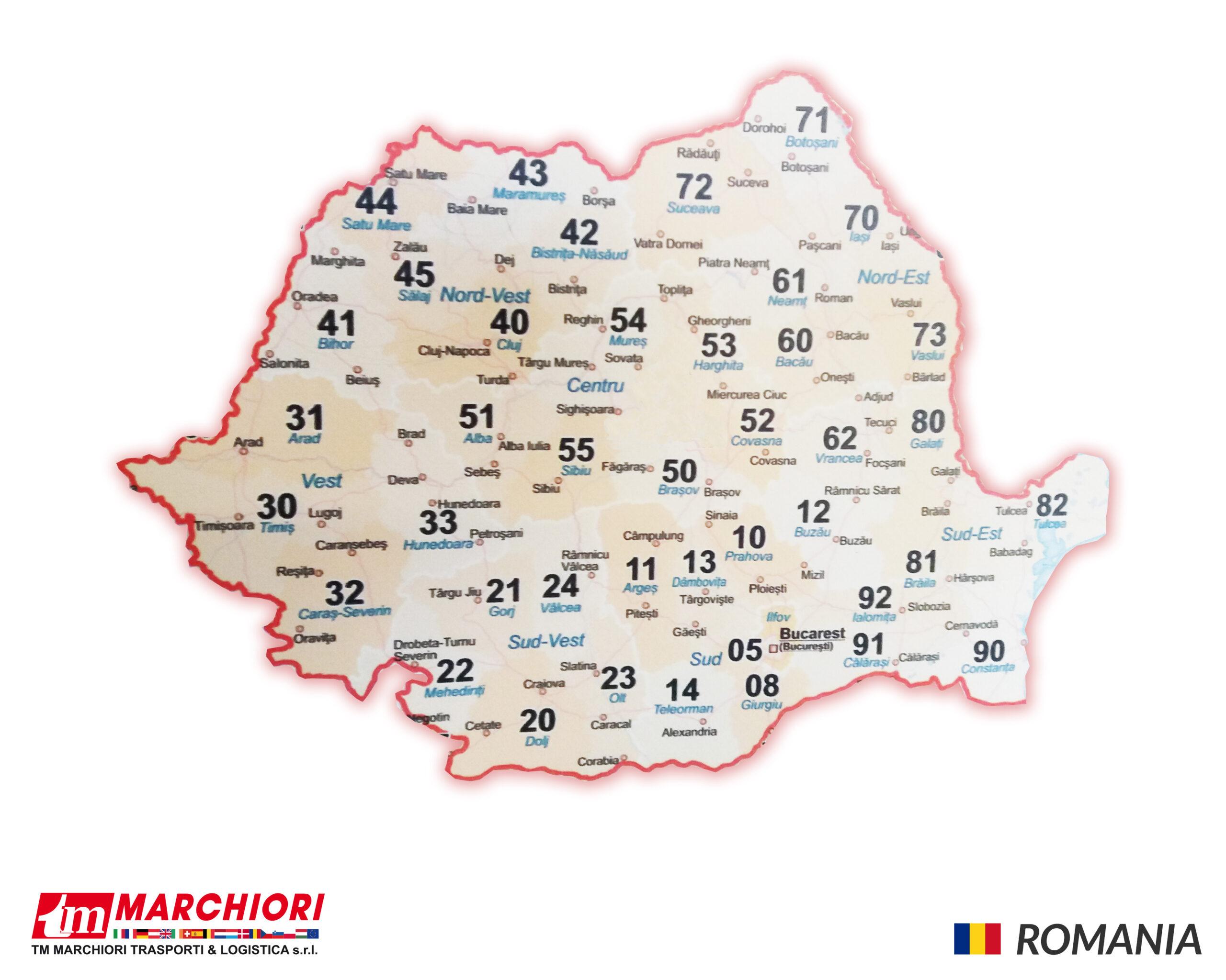 Trasporti in Romania