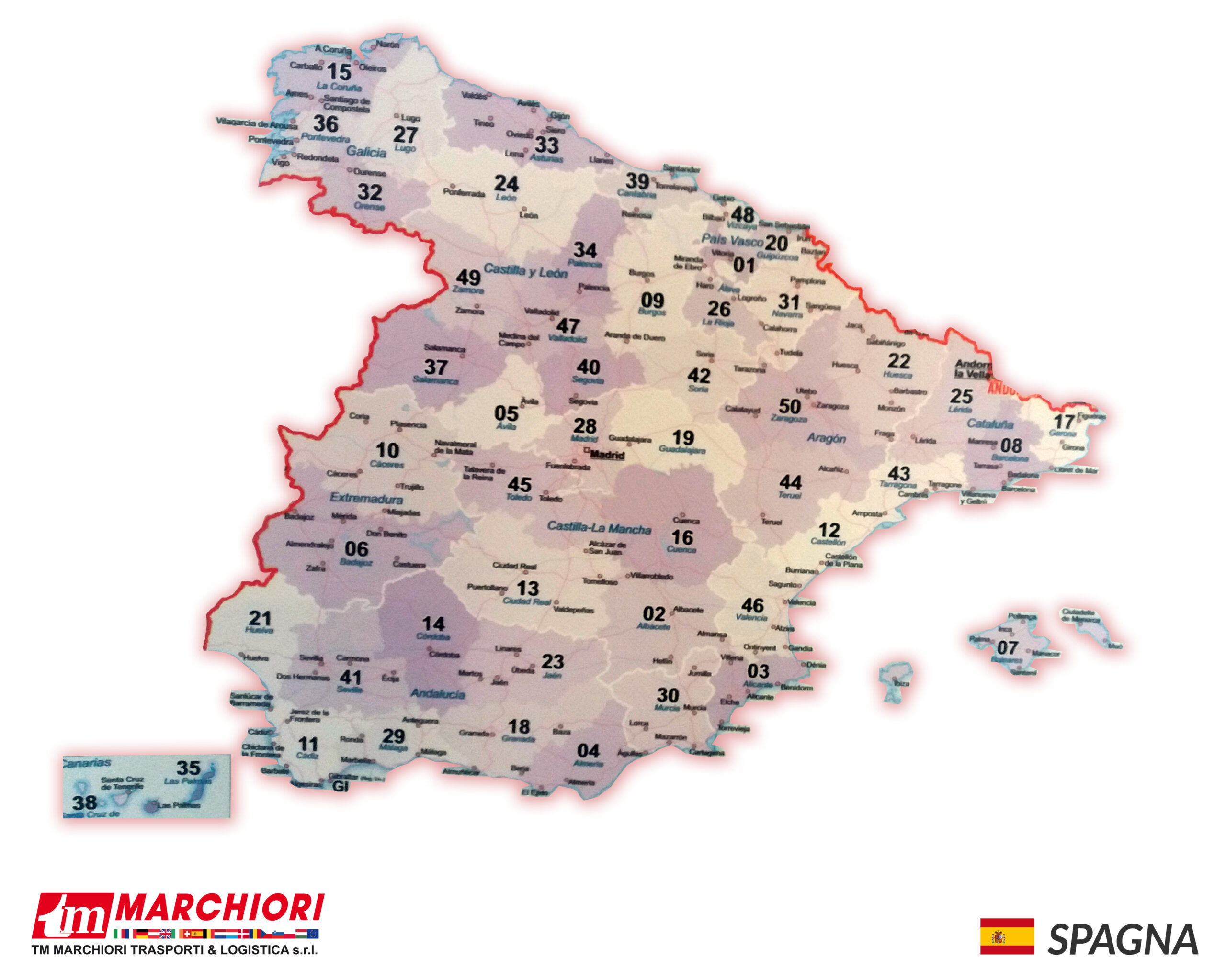 Trasporti in Spagna