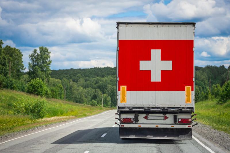Trasporto merci da e per Svizzera